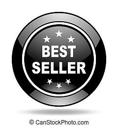 best seller black glossy icon