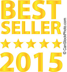 Best Seller Five Stars Golden Award