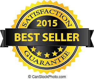 Best Seller Five Stars Golden Badge