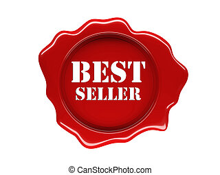 best seller - isolated 3d image of was seal