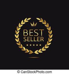 Best Seller label