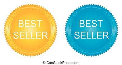 Best Seller Labels set