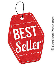 Best seller red leather label or price tag