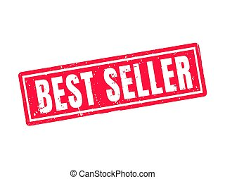 best seller red stamp style