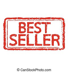 Best seller rubber stamp text Illustration