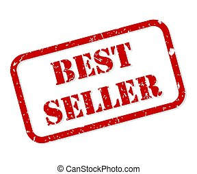 Best Seller Rubber Stamp Vector