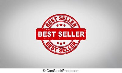 Best seller Signed Stamping Text Wooden Stamp Animation.