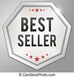 Best seller silver badge
