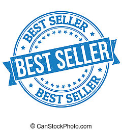 Best seller stamp - Best seller grunge rubber stamp on...