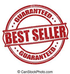 Best seller - Stamp with text best seller inside, vector ...