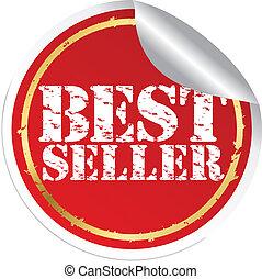 Best seller, vector