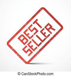 Best Seller Vector Red Stamp
