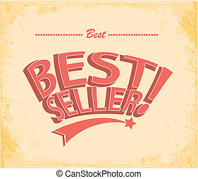Best seller Vintage Poster Vector