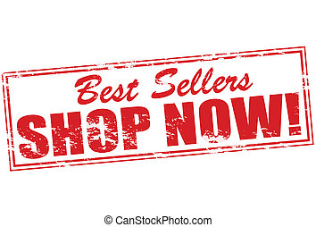 Best sellers - Rubber stamp with text best sellers inside,...
