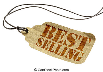 best selling sign on paper price tag