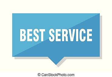 best service price tag