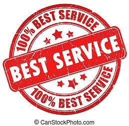Best service stamp