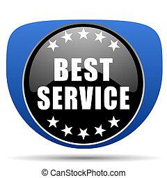 Best service web icon