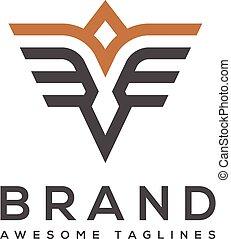 best simple Vector wings logo