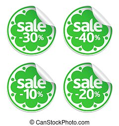 Best Spring sale green stickers