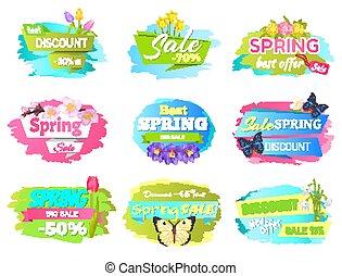 Best Spring Sale Label Crocus Flowers, Discounts