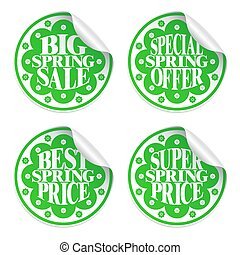 Best spring sale ,offer stickers