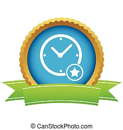 Best time certificate icon