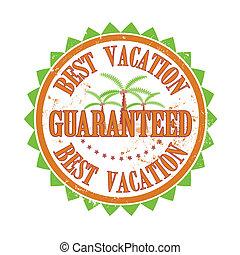 best vacation stamp