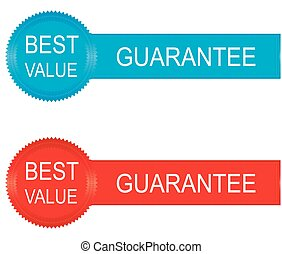 best value badges and stickers