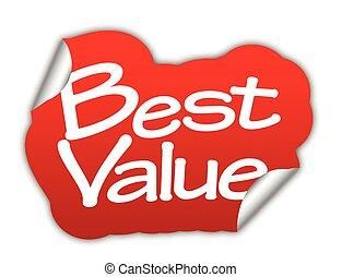 best value, sticker best value, red sticker best value, red vector sticker best value, best value eps10, design best value, sign best value