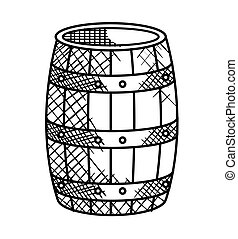 best wine barrel icon