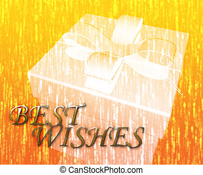 Best wishes festive special occasion celebration abstract...