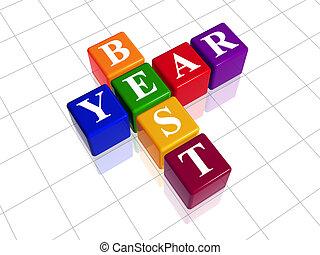 best year like color crossword