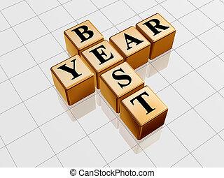 best year like golden crossword