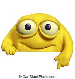 besta, cute, amarela