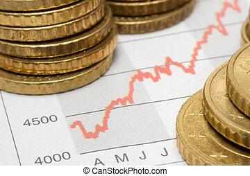 bestandstabelle, w/, geldmünzen