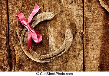 beste wünsche, und, gut glück, zu, a, töchterchen