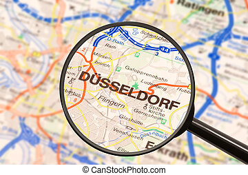 bestemming, dusseldorf
