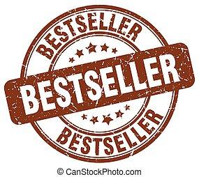 bestseller brown grunge round vintage rubber stamp