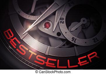 Bestseller on Mechanical Wristwatch Mechanism. 3D.