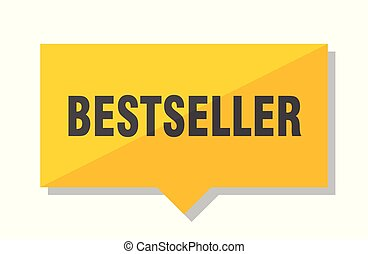 bestseller price tag - bestseller yellow square price tag