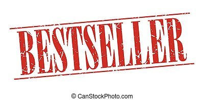 bestseller red grunge vintage stamp isolated on white background
