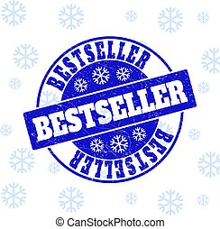 Bestseller Scratched Round Stamp Seal for Xmas