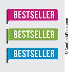 bestseller, %u2013, moderne, etiket