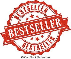 Bestseller vector stamp