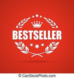 bestseller, vettore, icona