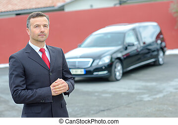 bestuurder, limousine