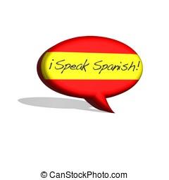 beszél, spanish.