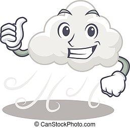 betű, felhős, tervezés, szeles, gyártás, jóváhagy, gesztus, ...