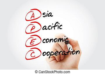 betűszó, ázsia, -, gazdasági, békés, apec, együttműködés